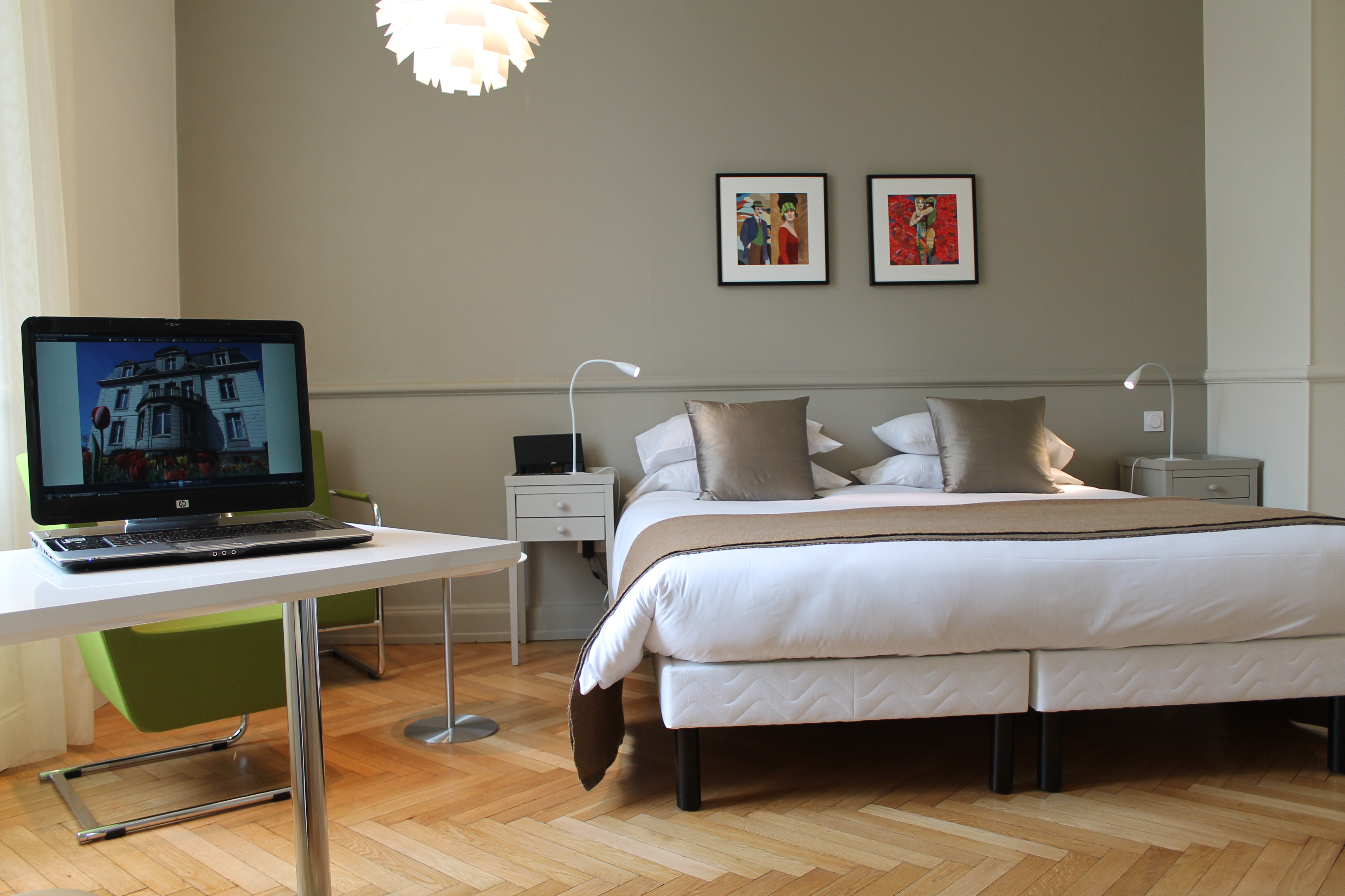 villa elyane hotel de charme à Colmar chambre 2