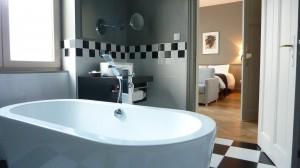 Salle bains chambre 1 chambre hotes Colmar villa elyane