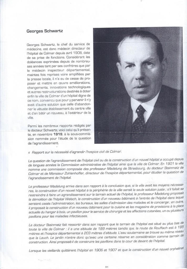 Georges Schwartz et l'hopital Pasteur page 2