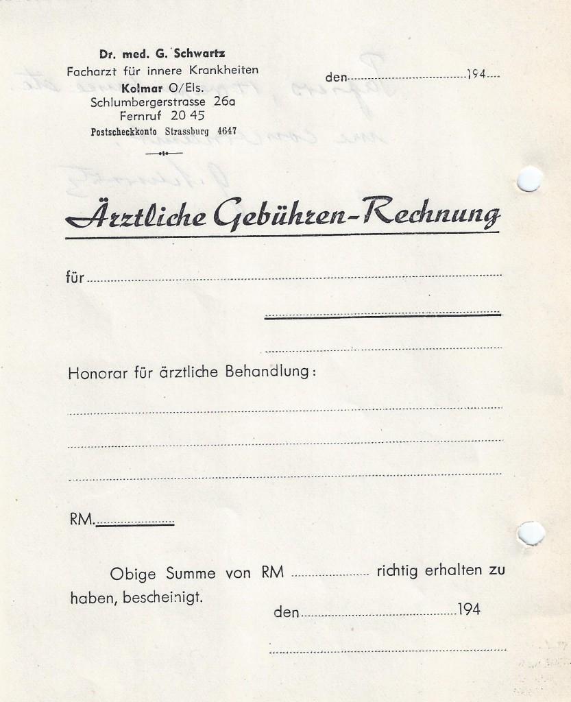 Georges Schwartz - ordonnance