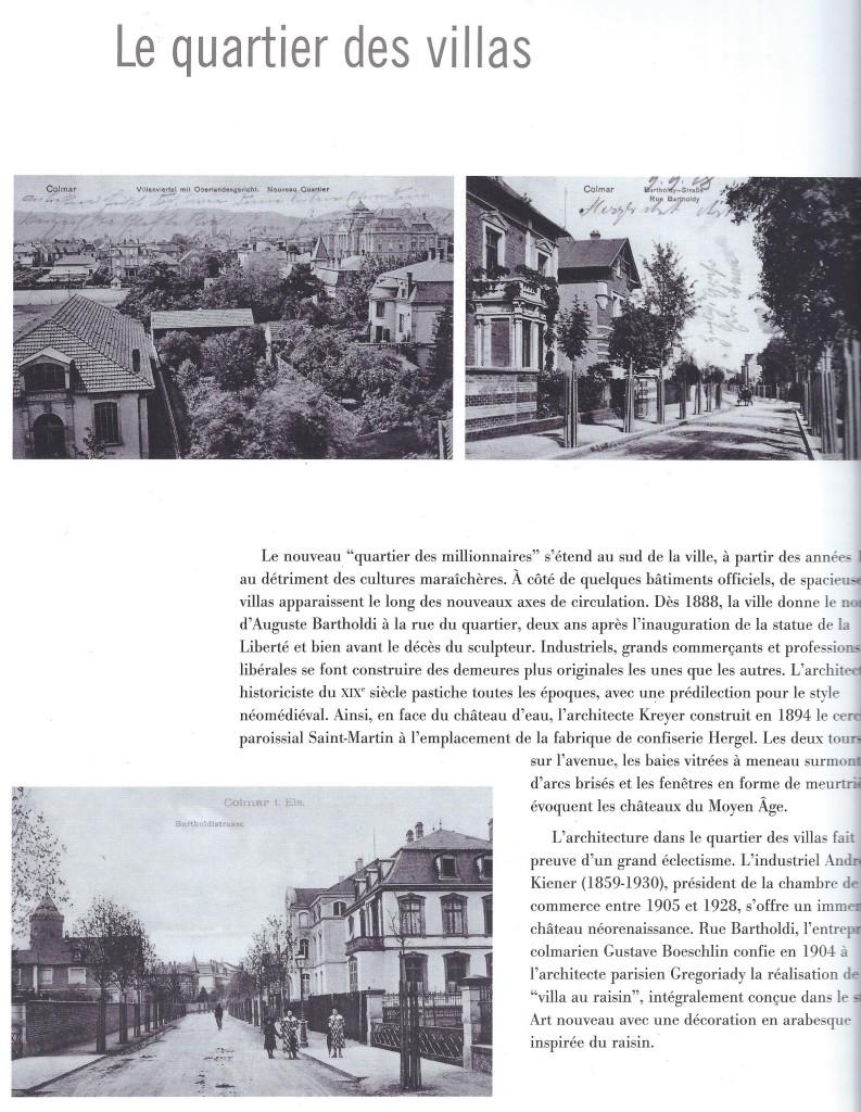 Quartier sud Colmar