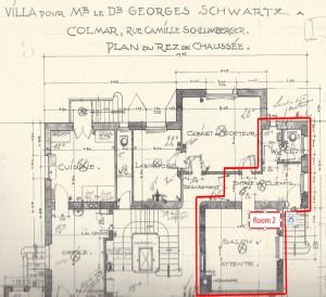 plan rdc room 2